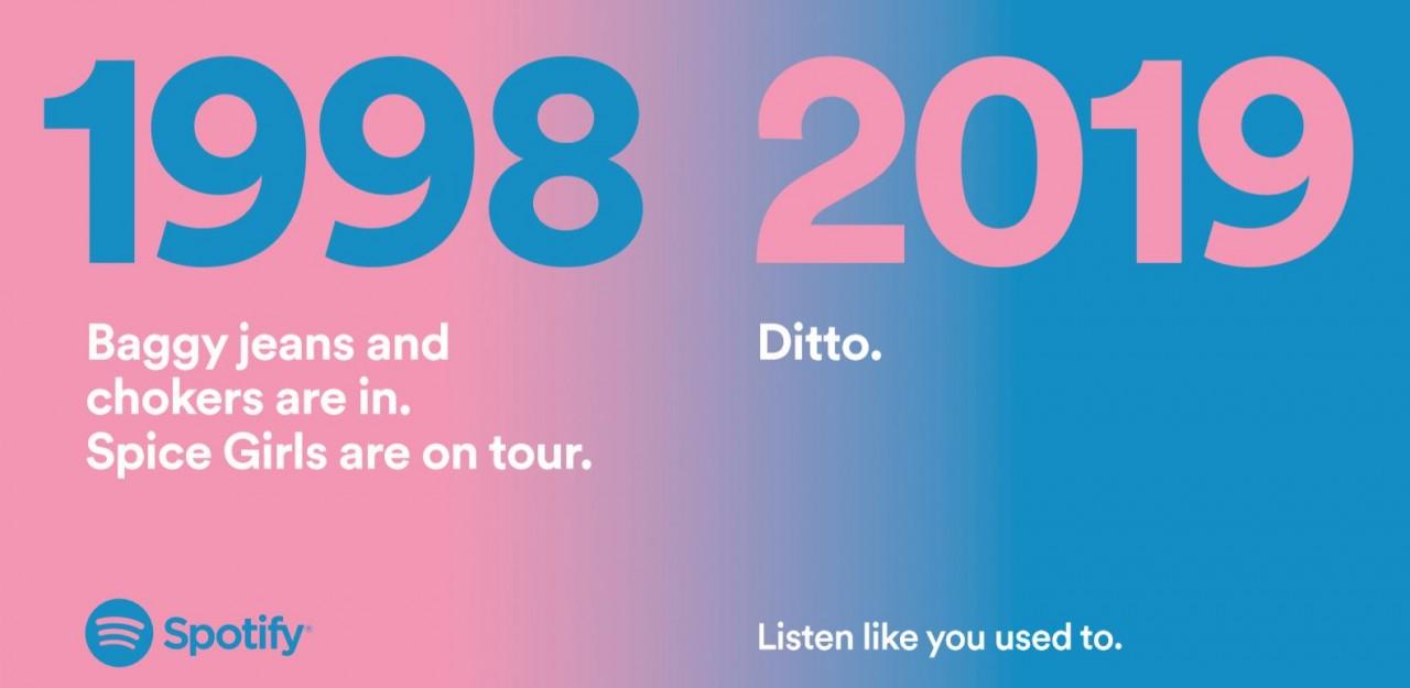 s3-spotify_spice_girls_0-default-1280-1024x500 🔥 L'ultima campagna affissioni di Spotify in Regno Unito è assolutamente geniale.