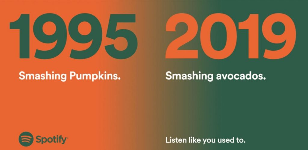 s3-spotify_smashing_pumpkins_0-default-1280-1024x500 🔥 L'ultima campagna affissioni di Spotify in Regno Unito è assolutamente geniale.