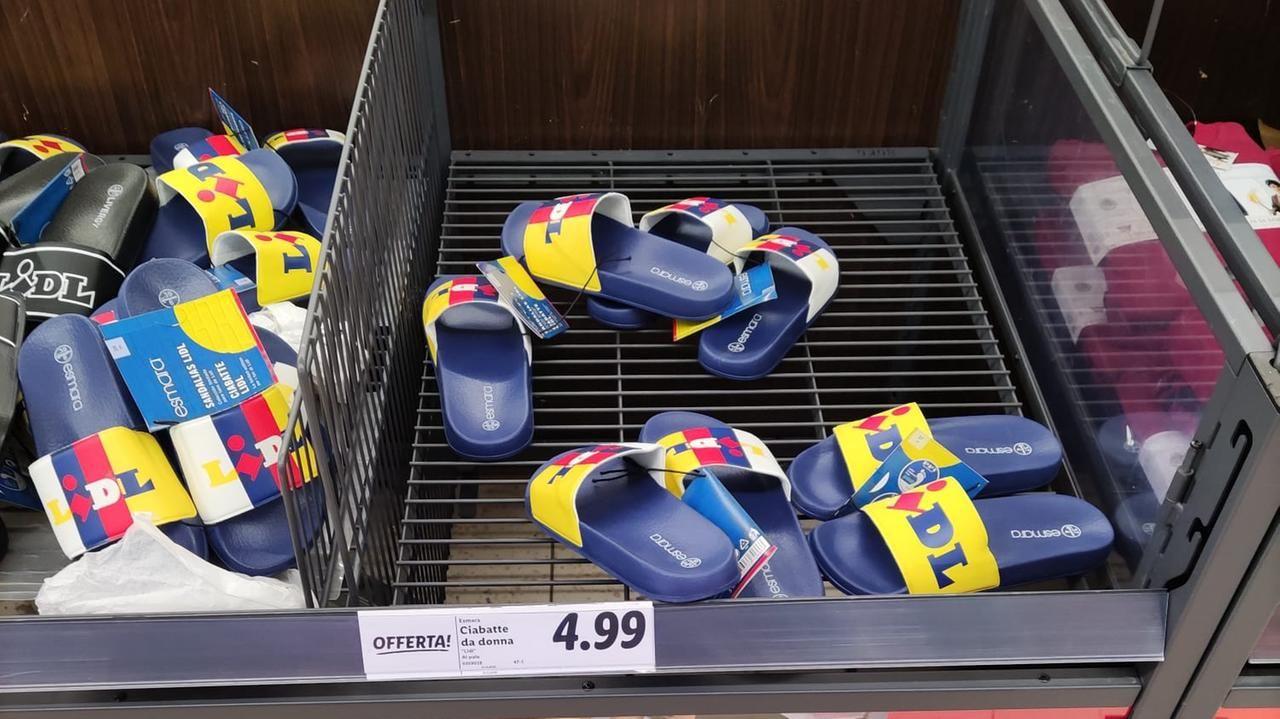 Perché le scarpe di Lidl vanno a ruba